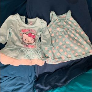 2 Dresses- good cond-2 for 7 or 3 sets $10